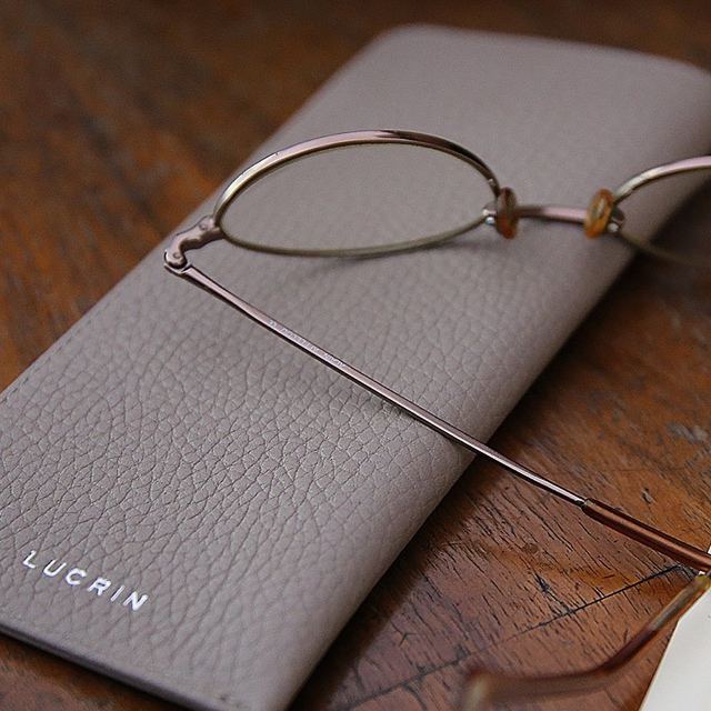 Housse pour lunettes fines